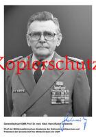 AK5 Ansichtskarte Generalleutnant OMR Prof. Dr. med. habil. Gestewitz DDR DINA6