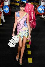 SS16 Moschino Couture X Jeremy Scott Furry Dice Bag Handbag MSRP $1,285