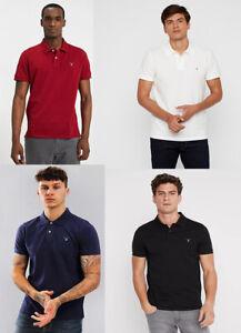 Gant Men Short Sleeve Pique Jersey Ruggers Polo Shirt top T shirt S M L XL 2XL
