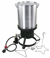 Cajun Injector Propane Gas Backyard / Camping / Kitchen Turkey Deep Fat Fryer