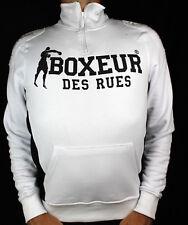 Felpa Boxeur Des Rues uomo BXE-4787F maglia tuta zip gym sport