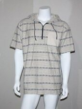 e57dd64d1 UNIONBAY Mens Hooded Short Sleeve Shirt Size M