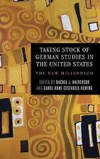 TAKING STOCK OF GERMAN STUDIES IN THE UNITED STATES - HALVERSON, RACHEL J. (EDT)