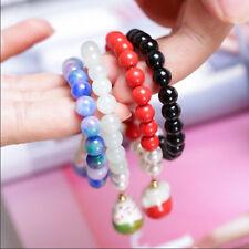 Jewelry Crystal Beaded Lucky Cat Natural Stone Lucky Bracelet Bracelet