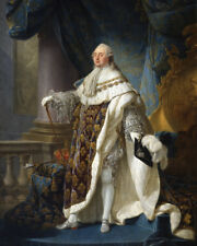 1772 LOUIS-AUGUSTE XVI Glossy 8x10 Photo Painting Print KING OF FRANCE Poster