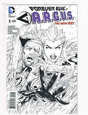 Forever Evil: ARGUS # 5 NM 1st Print B&W Variant Cover DC New 52 Comic Book S65