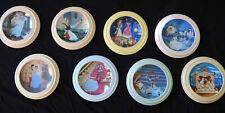 Bradford/Knowles Cinderella-Setof8 plates w/8 frames,Coas,ads,etc. 1989-90 Mint!