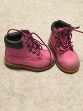Timberland Pink Boots Girls Size 7