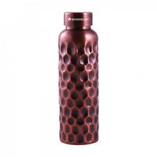 Wonderchef Copper Hammered Artisan Water Bottle 1 Litre, Free Worldwide Ship