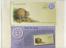 1997 NEW ZEALAND $1 KIWI FDC FROM COLLECTION BK34