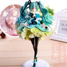 Vocaloid Hatsune Snow In Summer Miku Painted PVC Figuren Figur Spielzeug 28cm DE