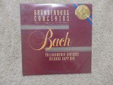 Richard Kapp Philharmonia Virtuosi Bach Brandenburg Concertos  still sealed