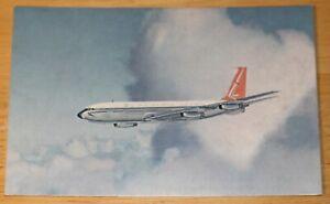 Vintage SAA South African Airways Boeing 707 Airline Issued Postcard