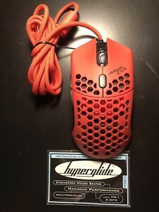 Finalmouse Air58 Ninja Gaming Mouse Cherry Blossom Red with Hyperglide