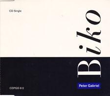 CD single Peter Gabriel GENESIS Biko UK 1987