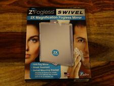 New- Zadro Z'Fogless 2X Magnification Fogless Swivel Suction Cup Mirror  - ZM05
