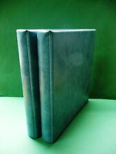 Michel Ringbinder o. Kassette Blau zwei Stück neuwertig (5909