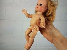"""Vintage Eegee Doll Sleep Eyes Jointed Knees With Dress Blonde 10"""""""
