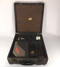 RARE VIEWLEX Slide Projector MODEL 1 Exc. Working Cond.W/ Built in Screen & Case