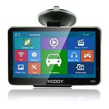 """XGODY 5"""" Inch Car GPS Navigation Sat Nav Bluetooth AV-IN+Sunshade 4GB NEW Map"""