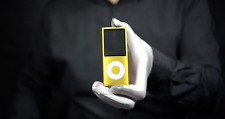 Genuine Apple iPod Nano 4th Gen 8GB Yellow - *The Masked Man*