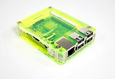 Zebra Case ~Lazer Lime~ Raspberry Pi3, Pi 3, Pi2, B+ and 2B  ***C4Labs***