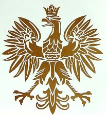 """Vinyl Decals Polish Eagle sticker Country window car TRUCK wall Graphics 6/"""""""