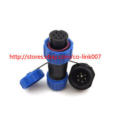 SP13 6pin Waterproof Connector,Aviation High-voltage Bulkhead Connector Plug
