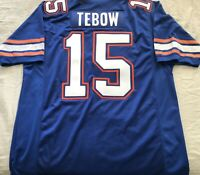 Tim Tebow Florida Gators authentic Nike blue 2010 Sugar Bowl GAME MODEL jersey