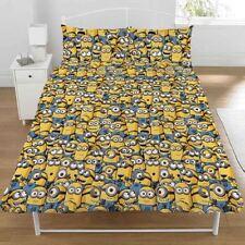Linge de lit et ensembles jaunes pour chambre d'enfant