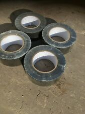 4 ROLLS BLACK GAFFER GAFFA DUCK DUCT TAPE 5OM X 48MM