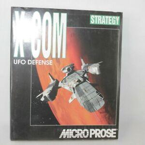 X-Com UFO Defense PC Big Box Game 1994 MicroProse ** Empty Box Only