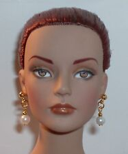 OOAK Art Doll/ Tonner/ Barbie/ Earrings- Small Hole- Pearl Bright- U Pick Color