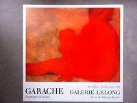 CLAUDE GARACHE - Orig. Austellungsplakat - 1988 -x