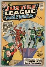 Justice League of America #4 May 1961 G/VG Green Arrow joins