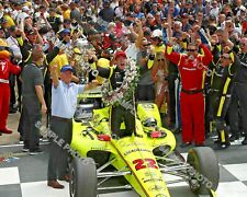 ALEXANDER ROSSI 2016 INDIANAPOLIS INDY 500 WINNER 8x10 PHOTO #3
