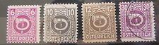 Österreich 1945 Freimarken Posthorn aus Mi.721 - 737