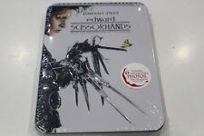 NEW - Edward Scissorhands - Anniversary Edition - Steelbook DVD - Region 1