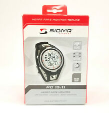 Sigma Sport PC 15.11 Heart Rate Monitor Watch w  Calorie Counter 57f41dfd094