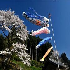 1 Set 5Pcs Japanese Carp Flag Carp Banners Windsock Sailfish Koinobori Wind Stre