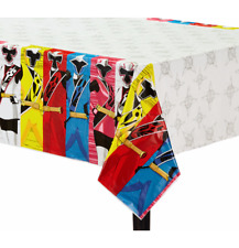 Power Ranger Ninja Steel Plastic Table Cover Birthday Party Supplies Decoration