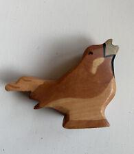 Holztiger Vogel Spatz  Rar! Rarität ~Sammler