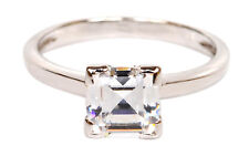 Pleasing Cushion Shape 2.50 Carat 925 Sterling Silver Solitaire Women's Ring