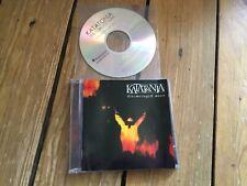 Katatonia - Discouraged Ones CD + Bonus Promo CD Peaceville Death Metal .