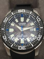 Mens Citizen Promaster Divers Watch BN0085-01E ISO Certified 300M ECO Drive