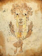 PAUL KLEE Angelus Novus BEAUTIFUL FINE ART CANVAS A1 ICONIC RETRO 20 X 30 WALL