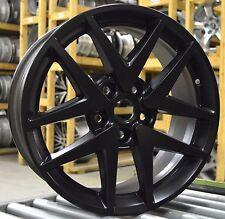 "17"" Ford Fusion 2010 2011 2012 Factory OEM Rim Wheel 3797 3979 Matte Black Set"