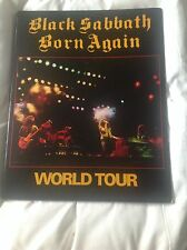 BLACK SABBATH BORN AGAIN CLASSIC TOUR PROGRAMME * NEW * program
