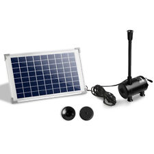 650l/h 50w Submersible Fountain Pump With Solar Panel