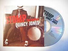 STOMP THE REMIXES : QUINCY JONES, MOUSSE T. RADIO MIX ♦ CD SINGLE PORT GRATUIT ♦